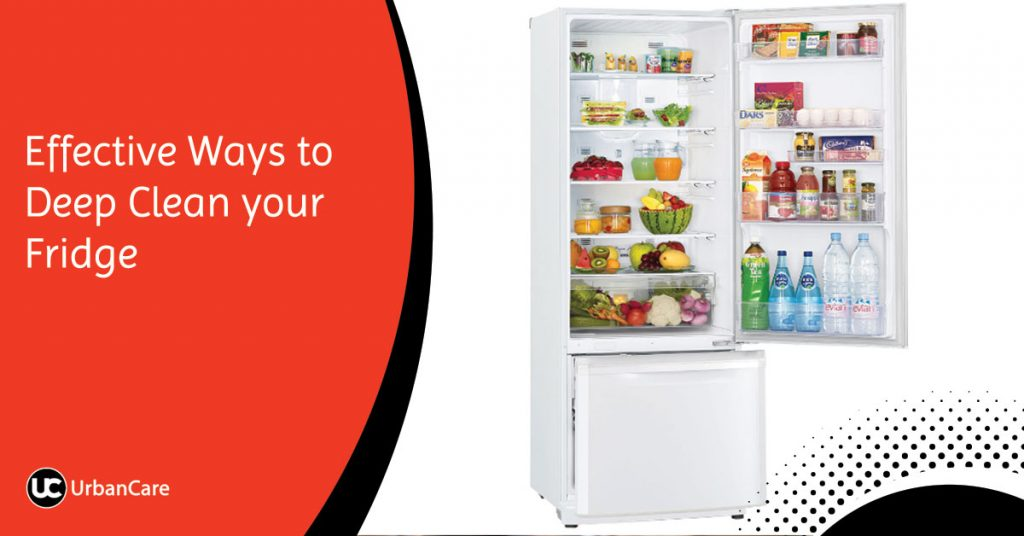 Effective Ways to Deep Clean your Fridge