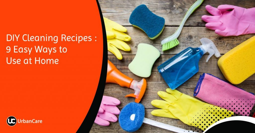 DIY Cleaning Recipes 9 Easy Ways to Use at Home