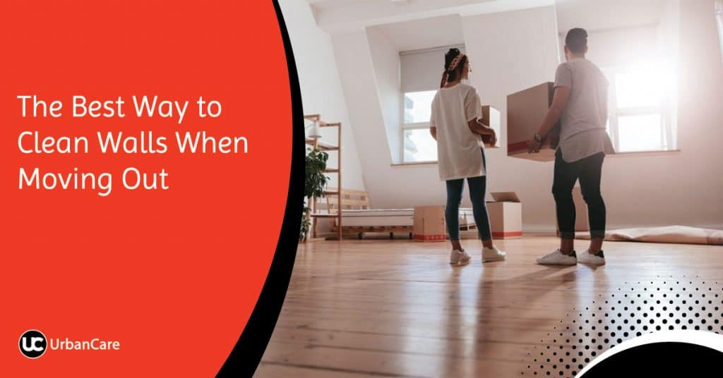 The Best Way to Clean Walls When Moving Out
